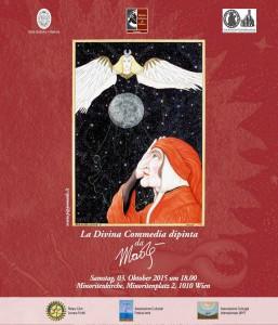 La Divina Commedia dipinta da Madè a Vienna